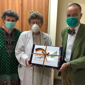 German Embassy donated money to Rawalpindi Leprosy Hospital