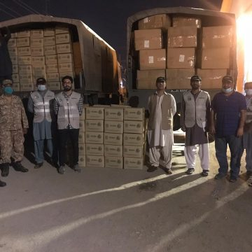 Delivery of fifth batch of safety equipment for hospital doctors and medical staff continues, NDMA