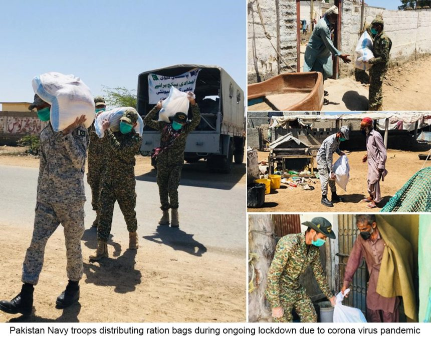 PAKISTAN NAVY RELIEF ACTIVITIES CONTINUE DURING COVID-19 PANDEMIC
