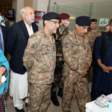 CJCSC General visits the ongoing exhibition organized by the Ministry of Science