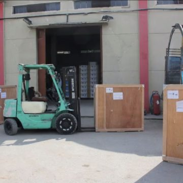 Delivery of eighth batch of safety equipment for doctors and medical staf