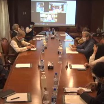 Meeting on Public Diplomacy was held at the Ministry of Foreign Affairs under the chairmanship