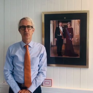 Dutch ambassador Wouter Plomp's video message for business companies