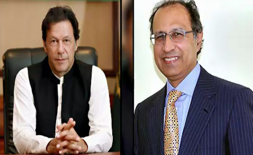 Finance Advisor Dr. Abdul Hafeez Sheikh called on Prime Minister Imran Khan