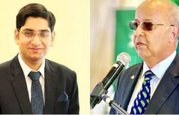 A joint meeting of Pakistani and British youth and members of parliament on the Kashmir issue