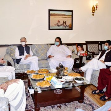 PM Imran Khan meets Balochistan Committee and Balochistan National Party Mengal delegation