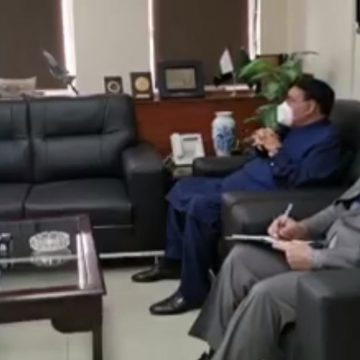 Canadian High Commissioner to Pakistan Miss Wendy Glamor called on Federal Minister for Railways