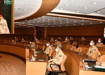 Corps Commander's Conference was held today at GHQ