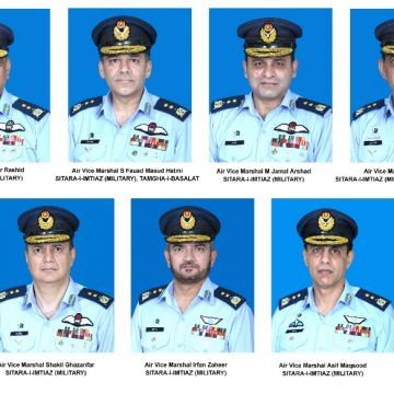 GOVERNMENT OF PAKISTAN PROMOTES 01 AIR OFFICER TO THE RANK OF AIR MARSHAL AND 10 AIR OFFICERS AS AIR VICE MARSHAL