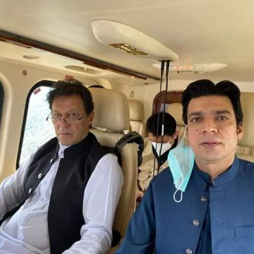 Prime Minister Imran Khan addressed a public gathering at Chilas