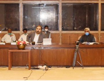 A meeting of the Parliamentary Committee on China-Pakistan Economic Corridor (CPEC)