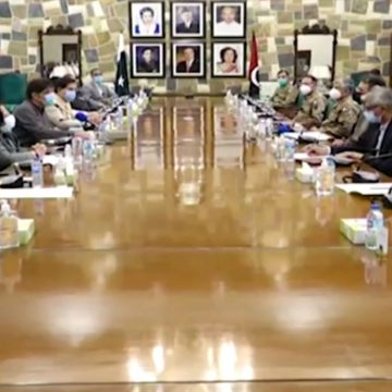 A special meeting of NCOC was held at Chief Minister's Sindh House
