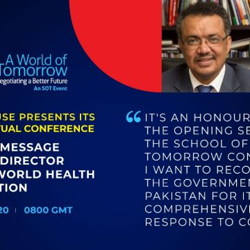 Director General, WHO recognises Pakistan's response to COVID-19