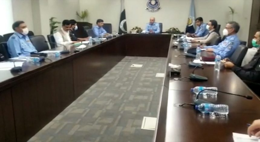 A high level meeting was held at Central Police Office under the chairmanship of Inspector General of Police Muhammad Amir Zulfiqar Khan.