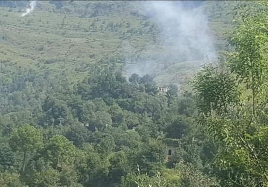 Indian Army troops initiated unprovoked ceasefire violation(CFV) in Baghsar Sector
