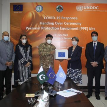 Strengthening LEAs response to COVID-19 in Pakistan