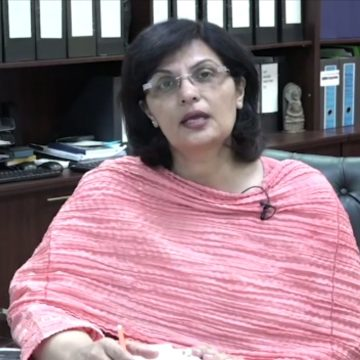 Dr. Sania Nishtar released an informative video to raise awareness about the process of verifying her eligibility through the web portal in the Ehsas Cash Program