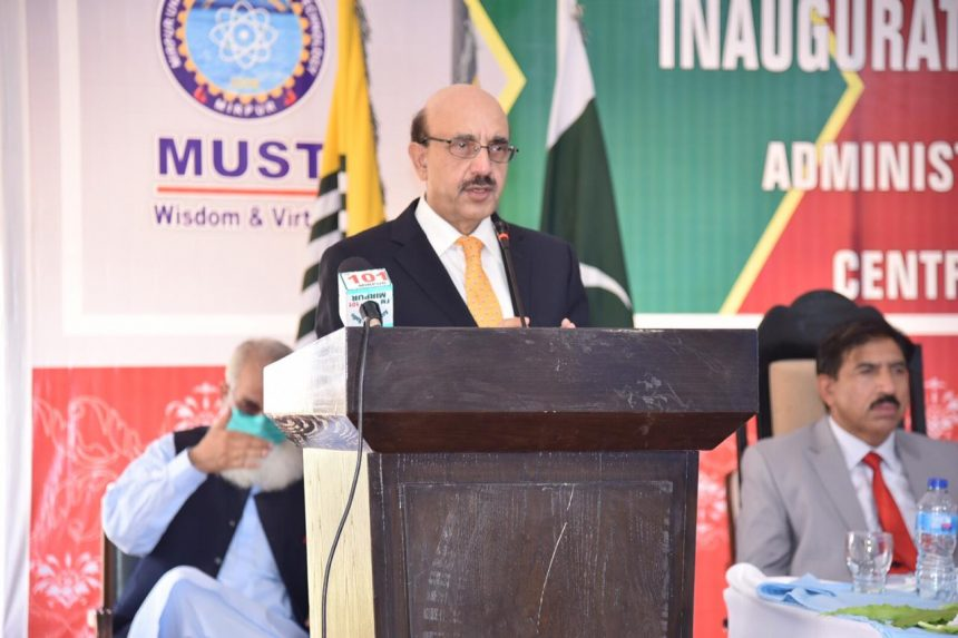 AJK president seeks UK's proactive role for Kashmir resolution through UNSC
