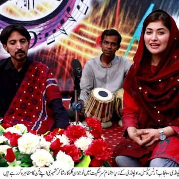 PUCAR encourages youth to step forward in art & culture, Waqar Ahmed