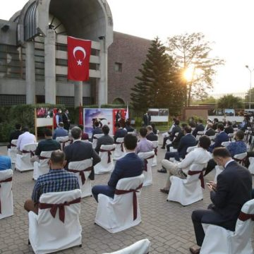 Democracy and National Unity Day celebrated at Turkey Embassy after the lapse of four months of Corona Epidemic