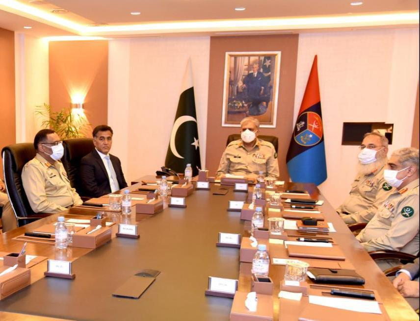 COAS visited Headquarters Inter Services Intelligence, ISPR