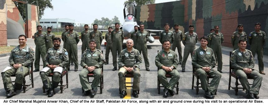 AIR CHIEF ASSESSES FLIGHT PERFORMANCE OF RECENTLY INDUCTED JF-17B (DUAL SEAT) AIRCRAFT