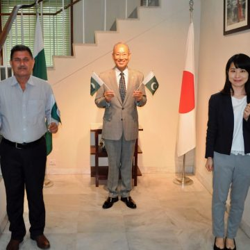 Ambassador of Japan congratulates 74th Independence Day of the Islamic Republic of Pakistan