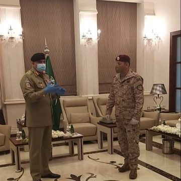 Army Chief reaches Saudi Arabia on official visit