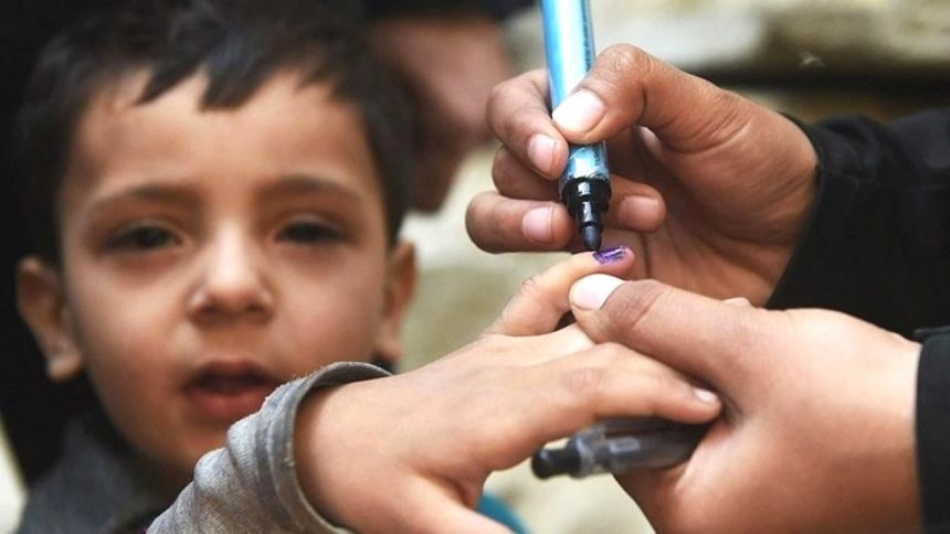 More than 34 million Pakistani children to be vaccinated against polio