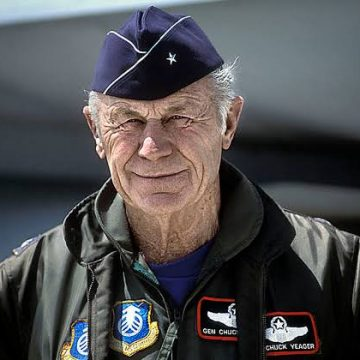 AIR CHIEF EXPRESSES GRIEF OVER THE SAD DEMISE OF LEGENDARY USAF PILOT