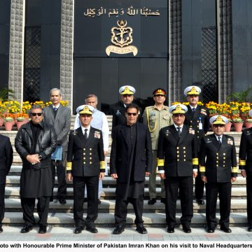 PRIME MINISTER IMRAN KHAN VISITS NAVAL HEADQUARTERS