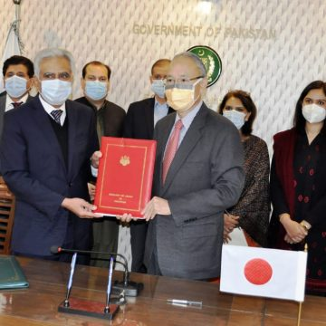 Japan grants USD 9.5 million to Pakistan for confronting COVID-19