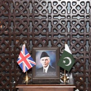 British High Commissioner called on Chief of Army Staff (COAS)