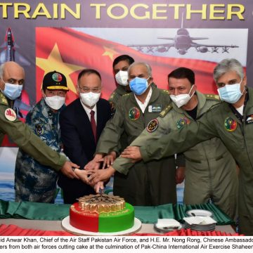 PAK-CHINA INTERNATIONAL AIR EXERCISE SHAHEEN-IX CONCLUDED WITH A RESOLVE TO JOINTLY COPE WITH SHARED SECURITY CHALLANGES