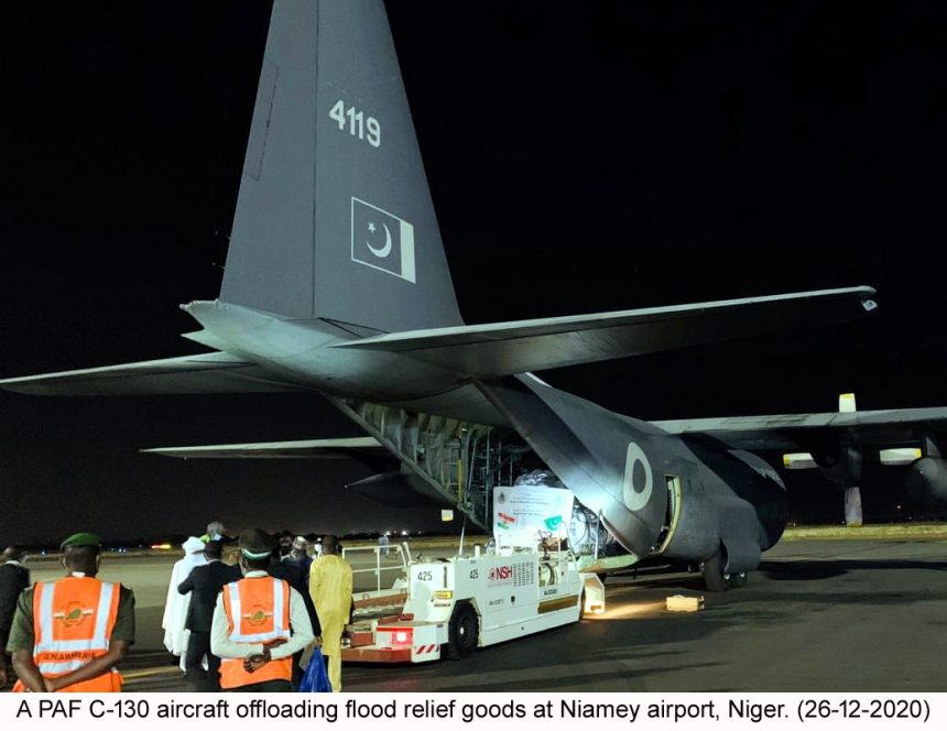 The Second Consignment of Relief Assistance delivered to Niger from Pakistan