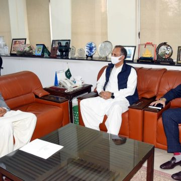 CM Gilgit-Baltistan called on Federal Minister for Energy