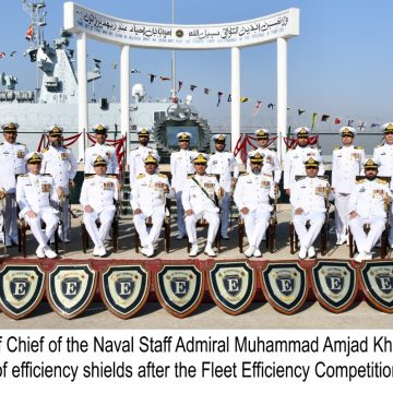 PAKISTAN NAVY CONDUCTS FLEET ANNUAL EFFICIENCY COMPETITION PARADE UPON CULMINATION OF OPERATIONAL YEAR