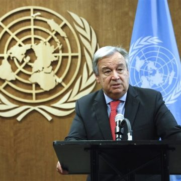 United Nations SECRETARY-GENERAL MESSAGE NEW YEAR'S 2021