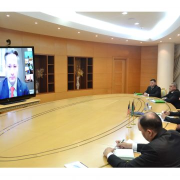 """Meeting of the """"Turkmenistan-USA"""" Business Council"""