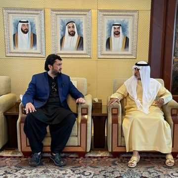 Shehryar Afridi meets UAE minister, conveys special message of PM Khan