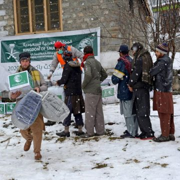 KS winter relief project completes distribution of winter relief goods in KP, Islamabad