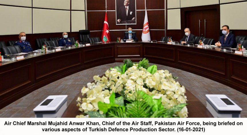 Chief of the Air Staff, called on Head of the Presidency for Turkish Defence Industries, Prof. Dr Ismail Demir.