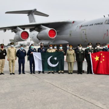 Chinese PLA provides COVID-19 vaccine to Pakistan Army, DGISPR