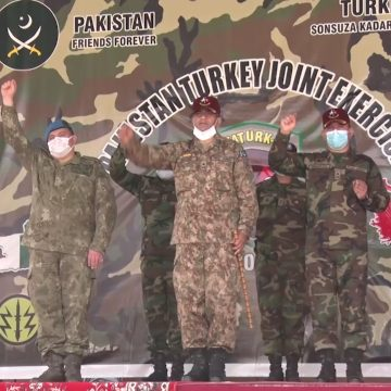 "Pakistan- Turkish joint military exercise ""ATATURK-XI"" 2021, ISPR"