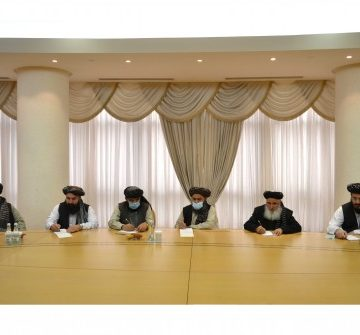 THE DELEGATION OF POLITICAL OFFICE OF TALIBAN MOVEMENT WAS HELD IN THE MFA OF TURKMENISTAN