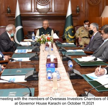 President Alvi urges to bring country's IT sector at par with European, US standards