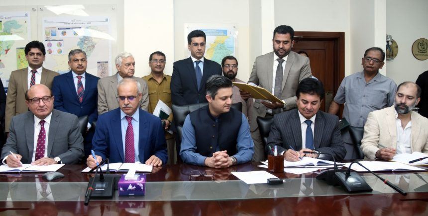 Petroleum Division signed Petroleum Concession Agreements and Exploration Licences for two Block