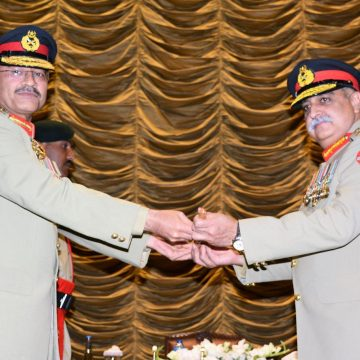 Change of Command Ceremony held at Gujranwala Cantt: ISPR