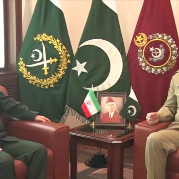 Pak-Iran two brotherly countries, close cooperation vital for regional peace & stability: COAS