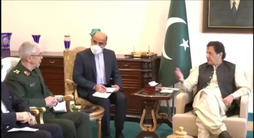 PM Khan underscores Pakistan's commitment to enhance closer bilateral ties with Iran